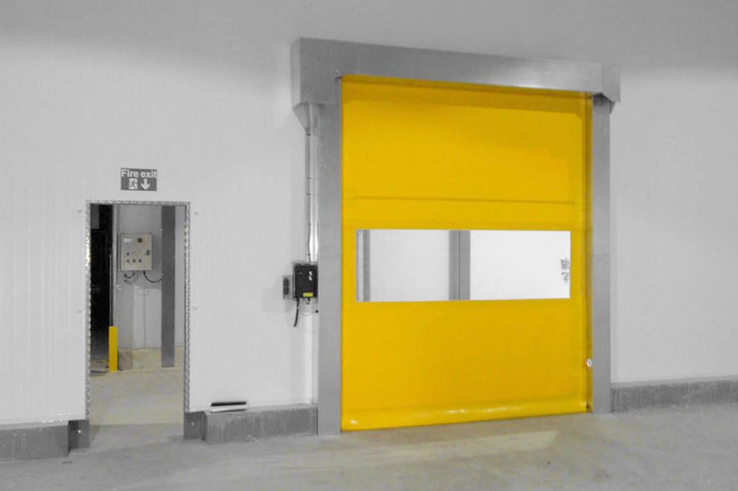 Click ... & Fast Doors Direct Model 32 Minimum Headroom - Fast Doors Direct